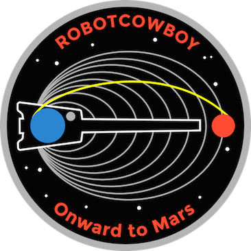 Onward to Mars mission patch